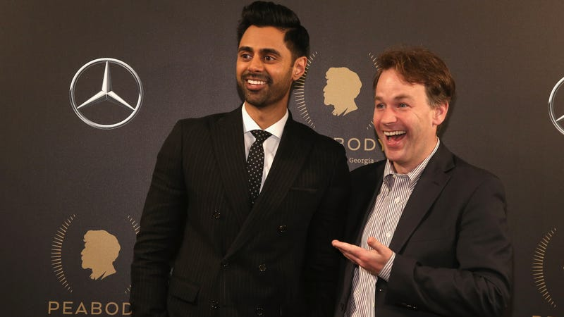 Hasan Minhaj and Mike Birbiglia