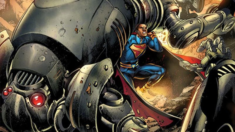 Illustration for article titled Grant Morrison's possible superhero swan song, Multiversity, coming in August