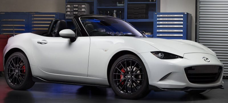 Illustration for article titled Mazda Promises 'Most Aggressive' 2016 Miata With New Club Edition