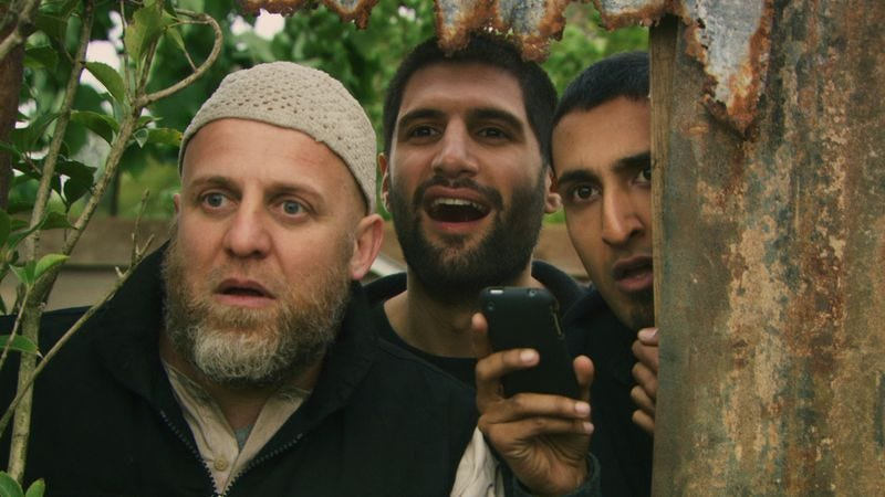 Illustration for article titled Four Lions finds the lighter side of terrorism, while avoiding cheap shots