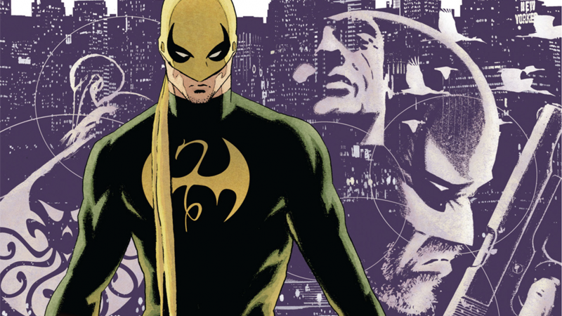 Image: Cover art to The Immortal Iron Fist #6 by David Aja.