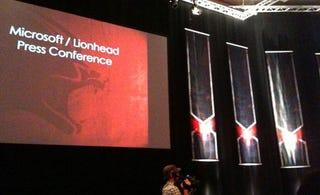 Illustration for article titled Liveblogging Microsoft's Gamescom Press Conference