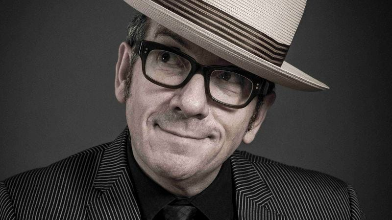 Illustration for article titled Elvis Costello on writing a memoir while rejecting nostalgia