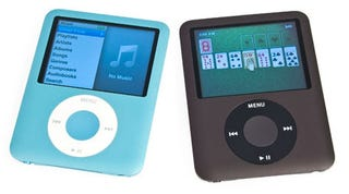 Illustration for article titled Refurb Blue and Black iPod Nano 8GB for $135