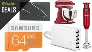 Illustration for article titled Speedy Micro SD Storage, Credit Card Knife, Kitchen Gadgets [Deals]