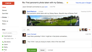 Illustration for article titled View, Comment On, and +1 Your Friends' Google+ Status Updates from Inside Gmail