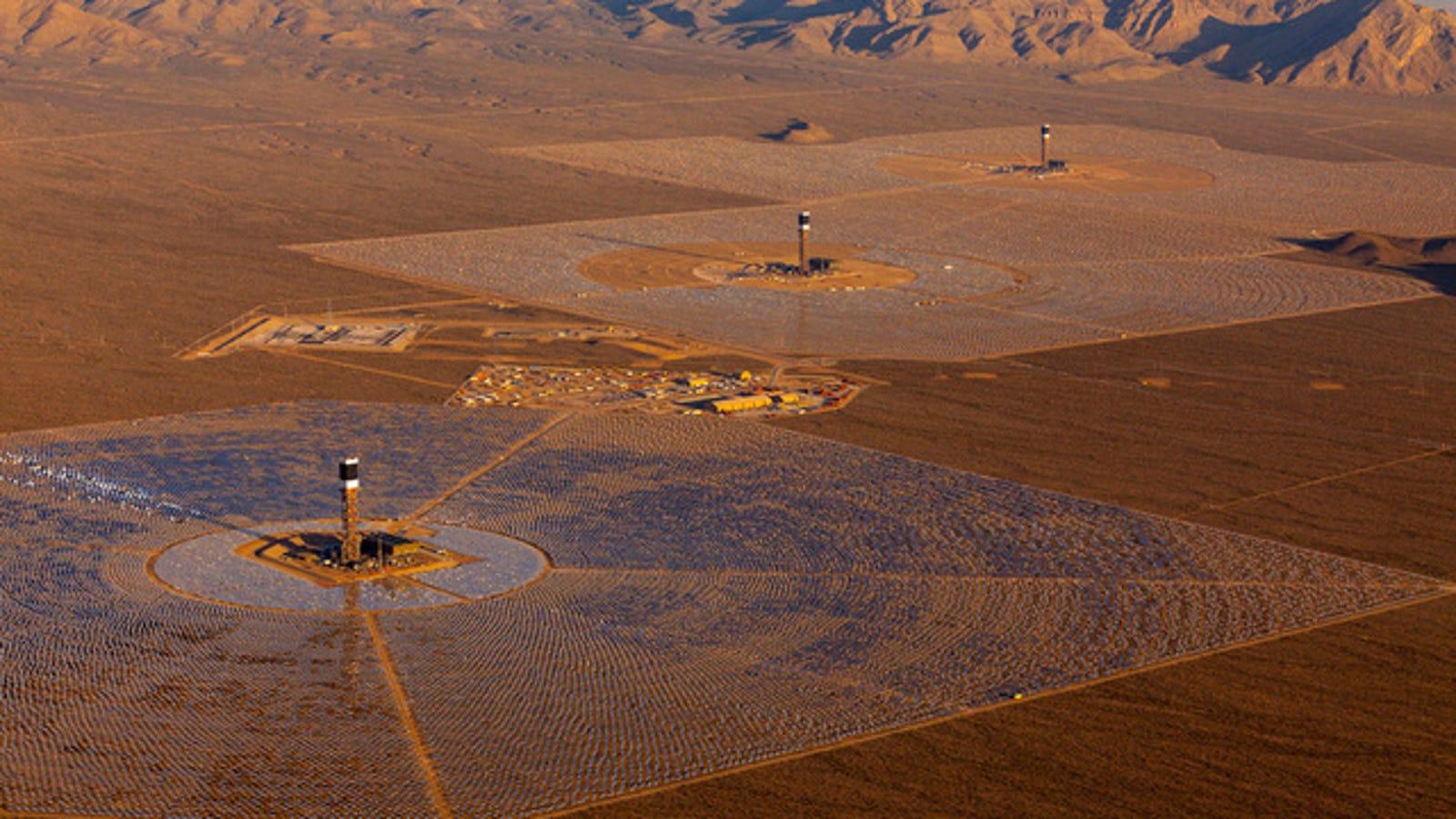 La planta solar más grande del mundo ya está en funcionamiento