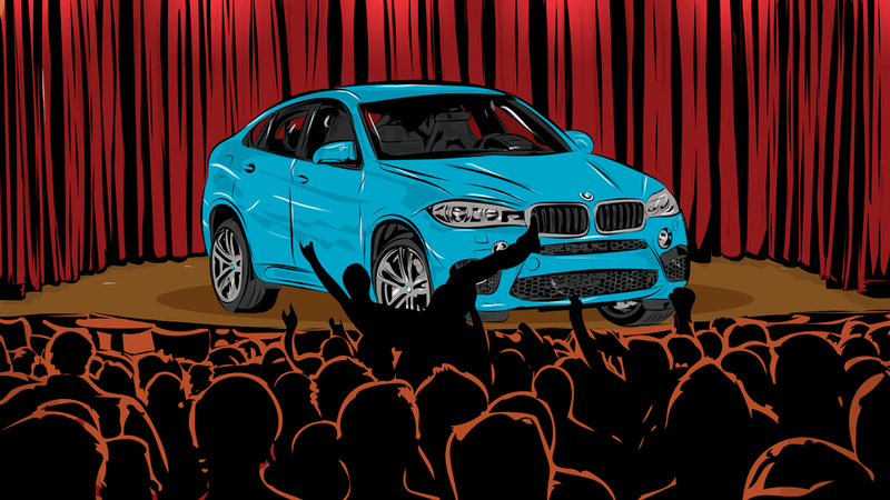Illustration for article titled The BMW X6 M Is 567 Horsepower Of Useless, Lovable Madness