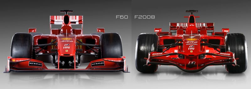 Illustration for article titled When Did F1 Cars Become Ugly?