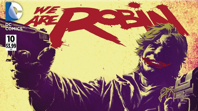 Illustration for article titled DC exclusive: The Jokerz run wild in We Are Robin #10