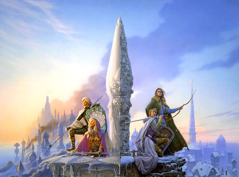 Illustration for article titled Tad Williams Is Writing A Sequel To The Books That Changed Epic Fantasy