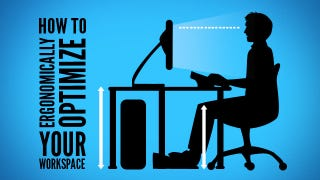 Illustration for article titled How to Ergonomically Optimize Your Workspace