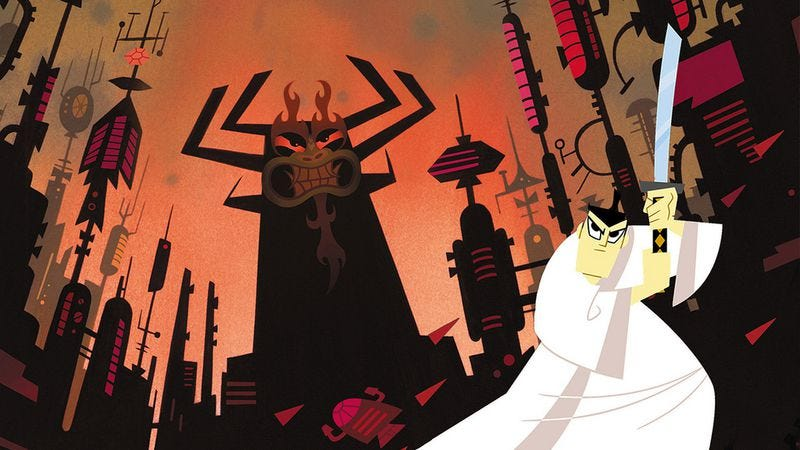 Illustration for article titled 10 episodes that show off the range of Samurai Jack's blade