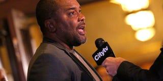 Lee Daniels is interviewed at the Toronto International Film Festival in 2012. (Jemal Countess/Getty Images)
