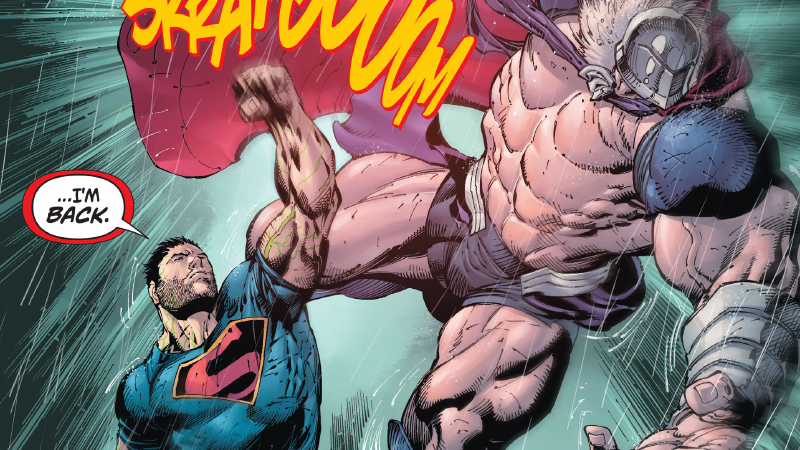 Superman Has a Pretty Silly New Superpower