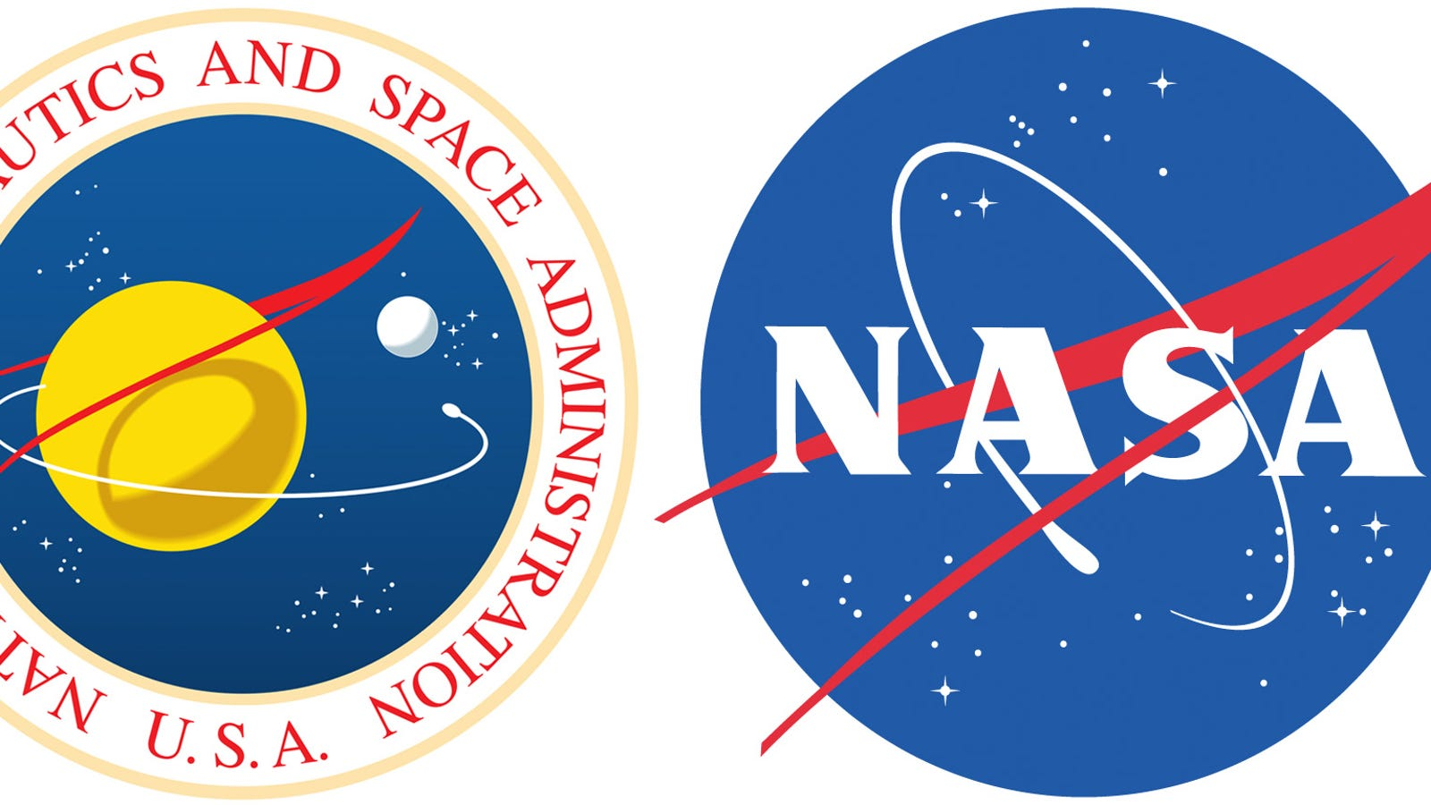 Whats The Red Shape In Nasas Meatball Logo