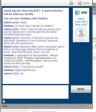 Illustration for article titled AT&T's Tech Support People Are Just as Happy as Their Customers (Updated)