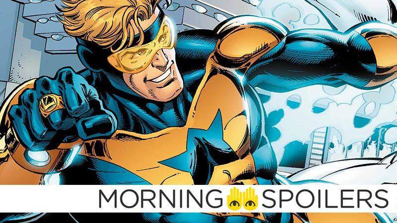 Booster Gold's Screenwriter Is Waiting for WB to Make a Move