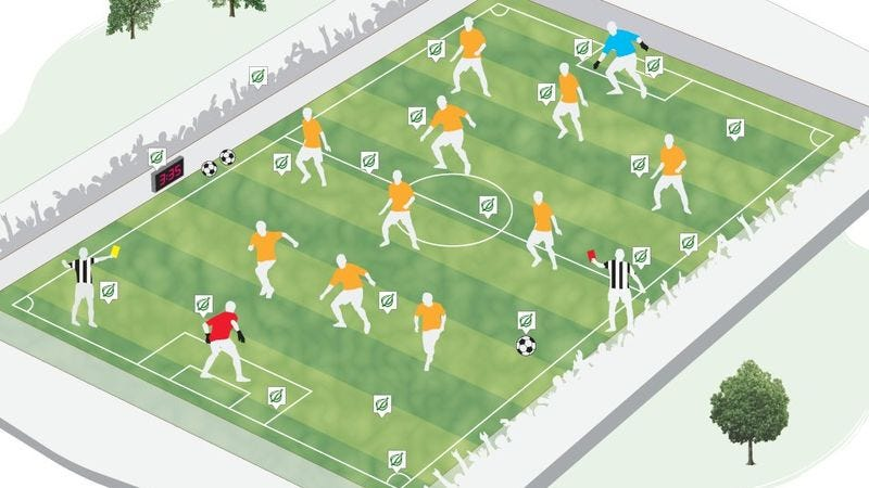 Illustration for article titled The Onion Sports Introduction To World Cup Soccer
