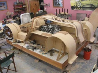 Illustration for article titled The Splinter All-Wood Supercar Is Real, Not Giant Fictional Ninja Rat