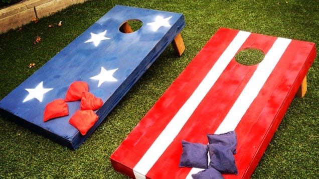 How To Build Your Own Bean Bag Toss Boards Just In Time