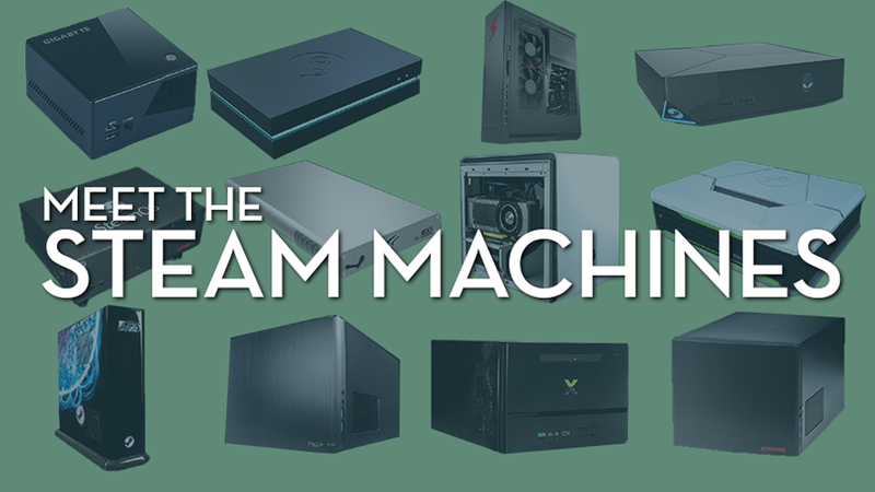 Illustration for article titled Valve Unveils 13 Steam Machines, With Specs And Prices