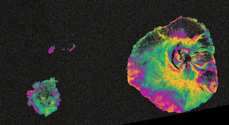 Illustration for article titled ​Radar Images From Space Could Help Predict Volcanic Eruptions