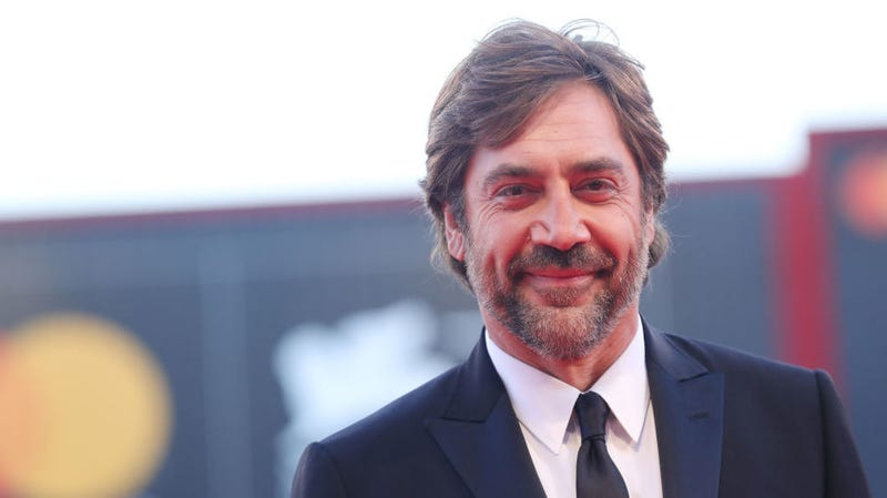Javier Bardem at the world premiere of mother! in Venice.