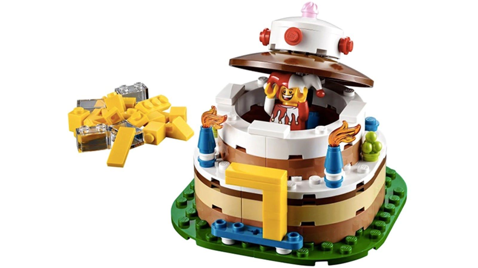 Legos New Birthday Cake Set Is A Calorie Free Way To Celebrate
