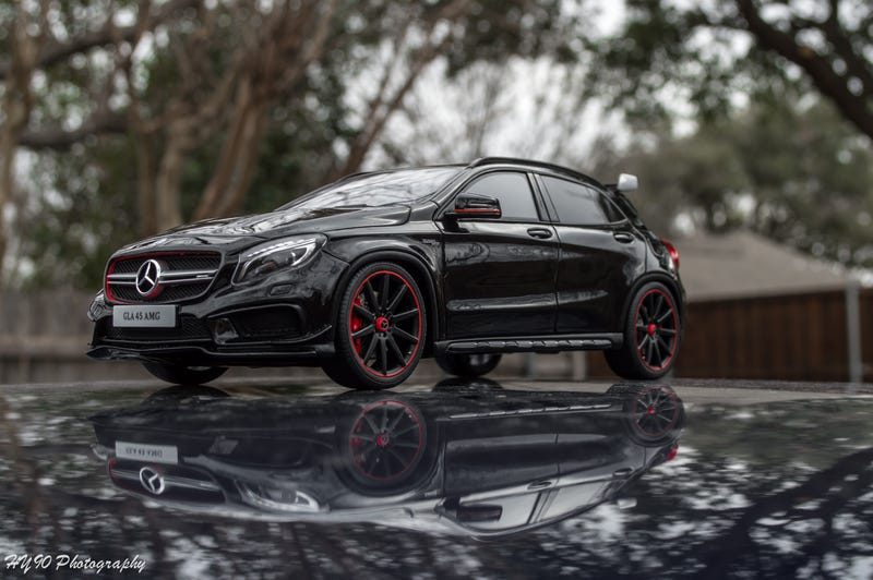 Illustration for article titled GLA45 AMG