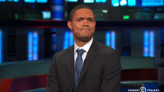 Comedian Trevor Noah, who has been tapped to replace Jon Stewart as host of The Daily ShowComedy Central screenshot