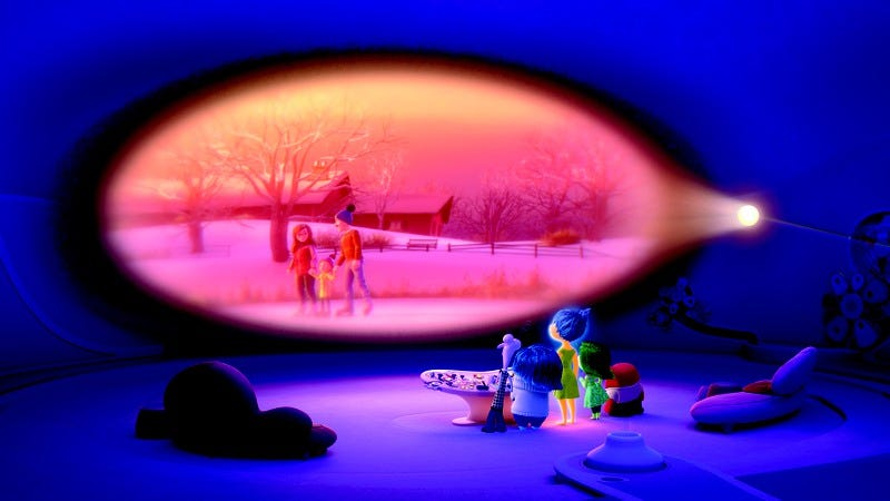 Illustration for article titled Inside Out will inspire tears of joy in parents and Pixar fans alike