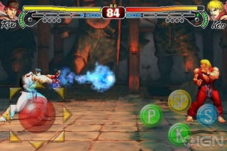 Illustration for article titled Street Fighter IV for iPhone Will Cost $10 From Next Month