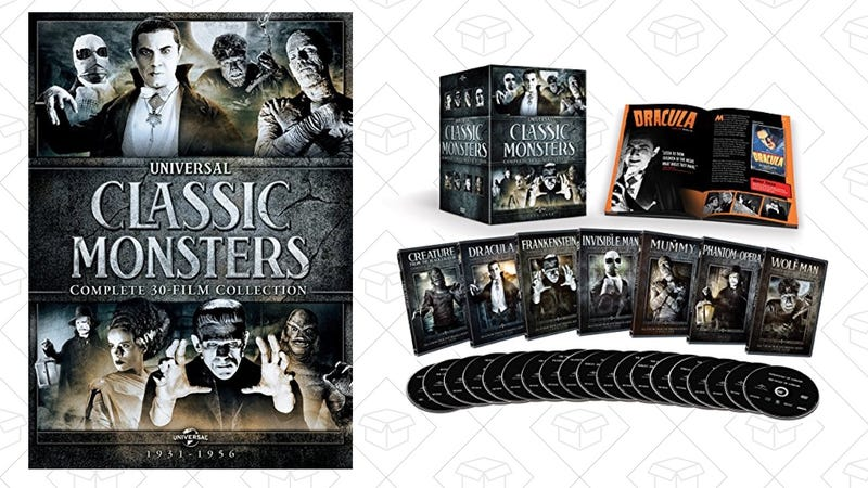 Classic Monsters 30-Film Collection, DVD, $50