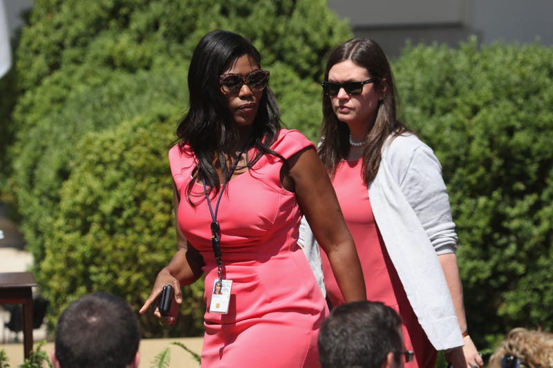 Omarosa Manigault-Newman, left (Mark Wilson/Getty Images)