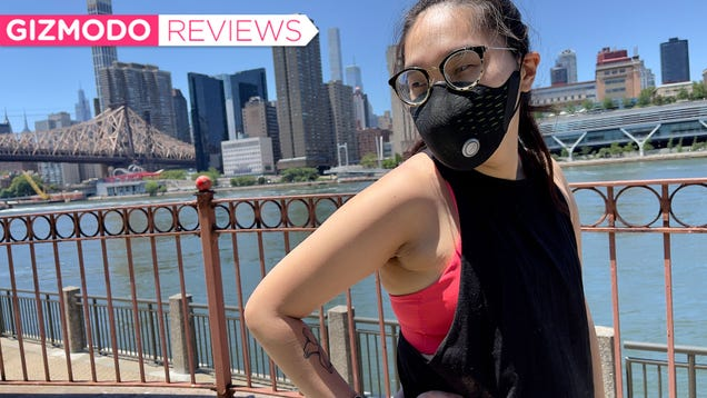 This Weird Air-Filtering Face Mask Picked the Worst Possible Time
