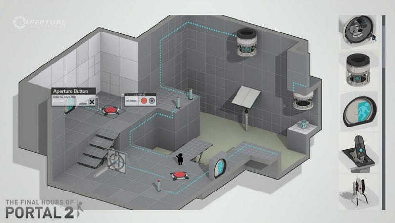 Illustration for article titled Valve Tinkering With an Excellent Portal 2 Feature That Talks Back