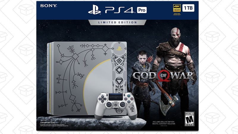 Reserva el pack de PS4 Pro con God of War | $400 | AmazonGráfico: Shep McAllister