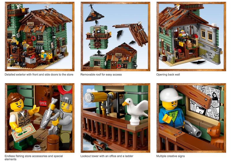 LEGO Old Fishing Shop Set   $130   Walmart
