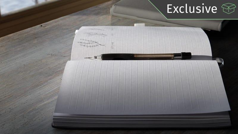 Cuaderno Ghost Paper   $20   Amazon   Código promocional KINJA313