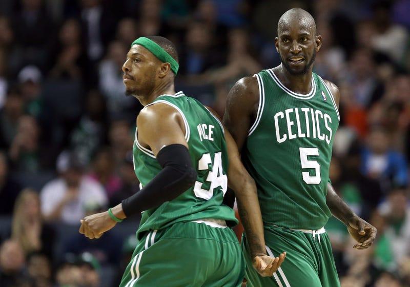 Illustration for article titled Report: Celtics Will Trade Kevin Garnett, Paul Pierce To Nets