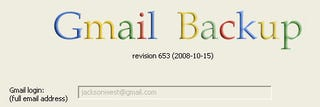 Illustration for article titled Gmail Backup Archives Your Email Account