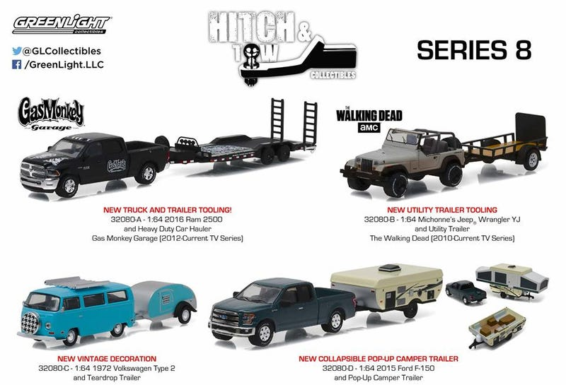 Greenlight Hitch & Tow Series 8