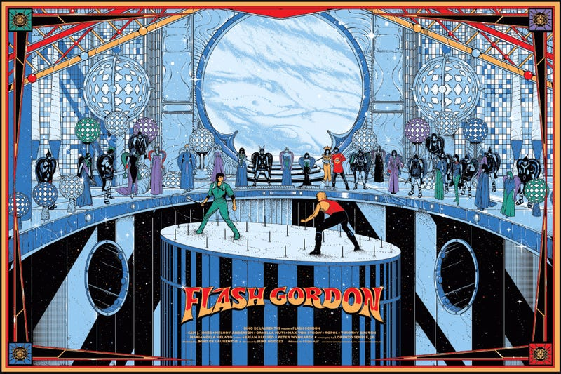 Illustration for article titled Check Out Mondo's Beautiful Posters For Flash Gordon, Ant-Man And More