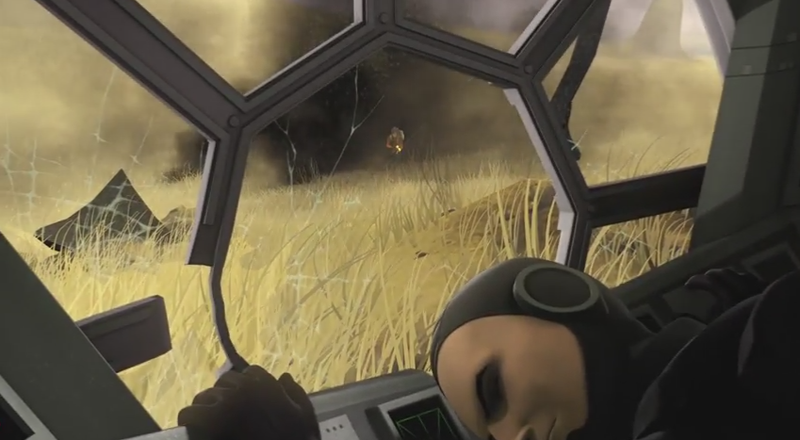 Illustration for article titled New Star Wars Short Shows A Rebel Robbing A Crashed Tie Fighter