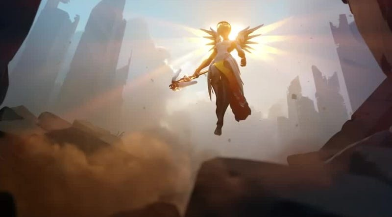 Illustration for article titled Overwatch Players Want Blizzard To Rework Mercy, But Can't Agree On How