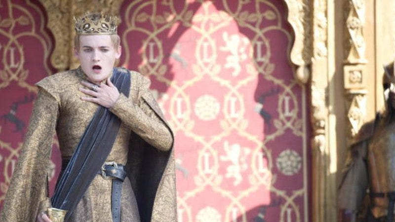 There's a dead Joffrey Baratheon toy. He died; there's no speculation about that one.