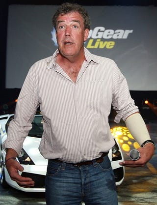 Illustration for article titled Clarkson Confirms Stig Unmasked Tomorrow Night