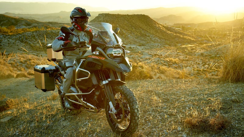 Illustration for article titled The New BMW R 1200 GS Adventure