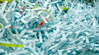 Illustration for article titled DARPA's Almost-Impossible Challenge to Reconstruct Shredded Documents: Solved